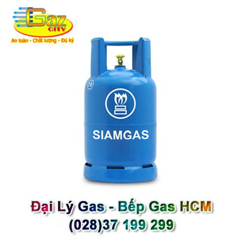 Siam Gas Màu Xanh Shell 12Kg